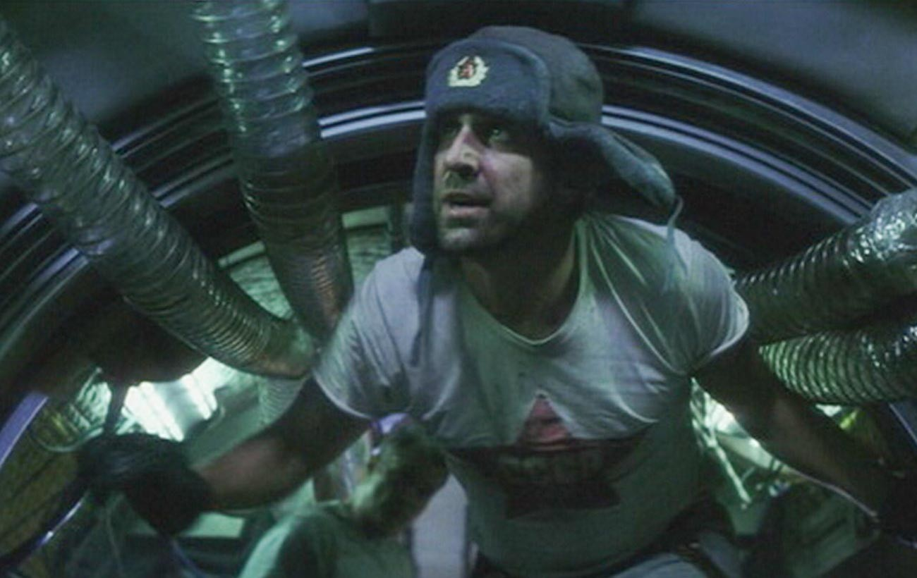 A scene from the Armageddon movie.