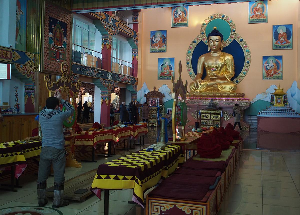 Templo Rinpoche Bagsha em Ulan-Ude.