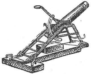Esquema del mortero diseñado por Gobiato.