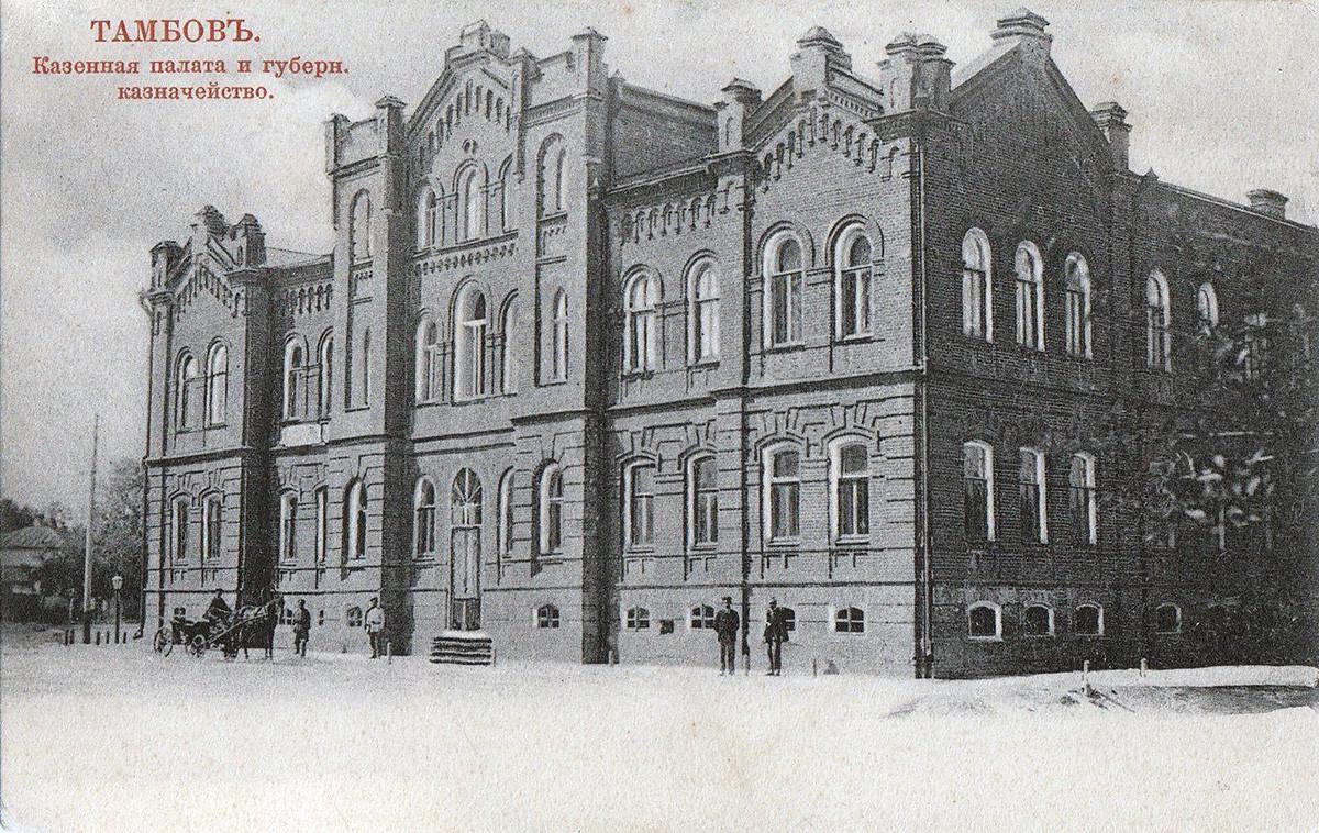 Das Schatzhaus in Tambow - ein rekonstruiertes Haus von Tschemarin, in dem der Mord passierte