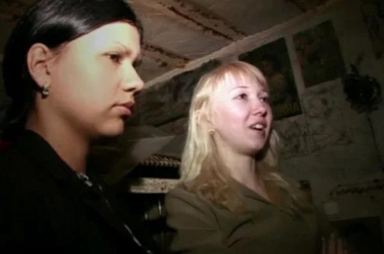 Katja Martynowa (links) und Lena Samochina