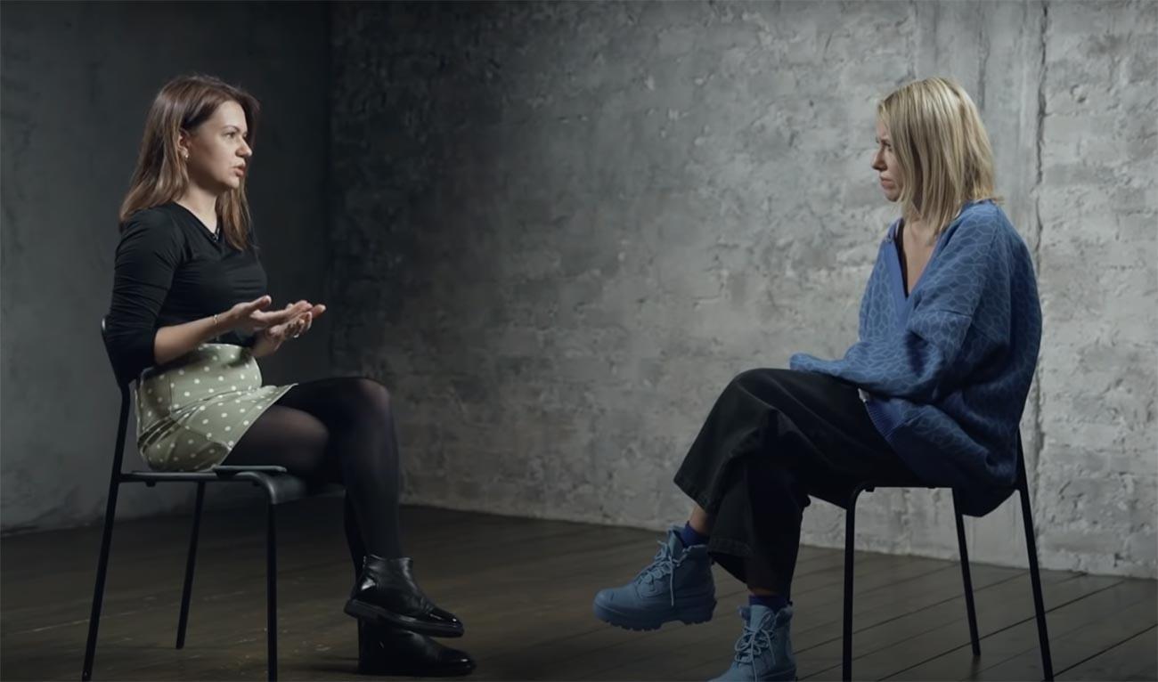 Јекатерина Мартинова и Ксенија Собчак