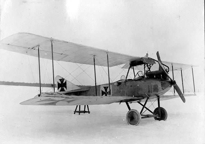 Avión Albatros alemán (1914)