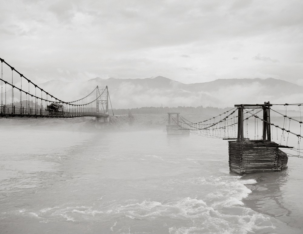 Deux ponts sur la rivière Katoun