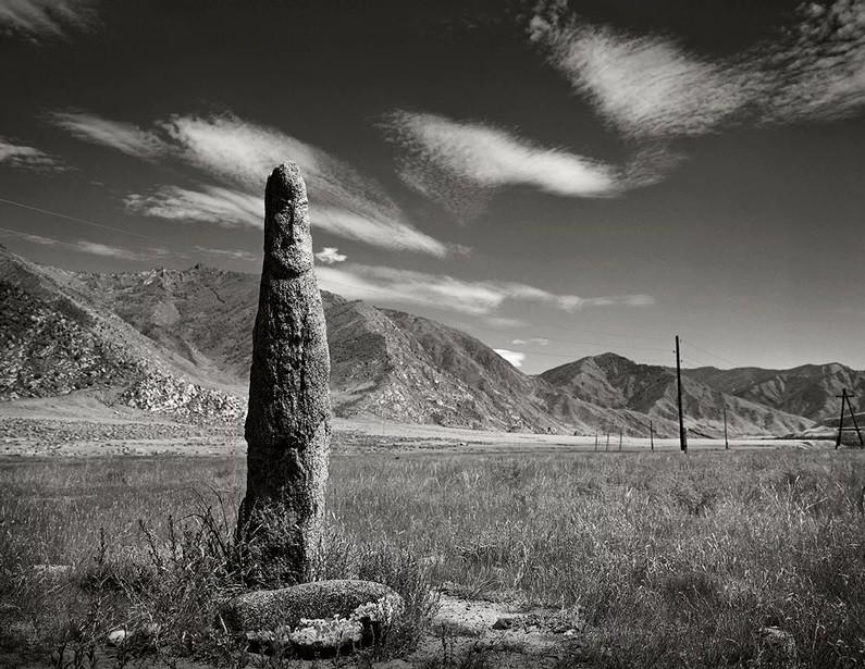 Guerrier de pierre, tumulus de Ker-Ketchou