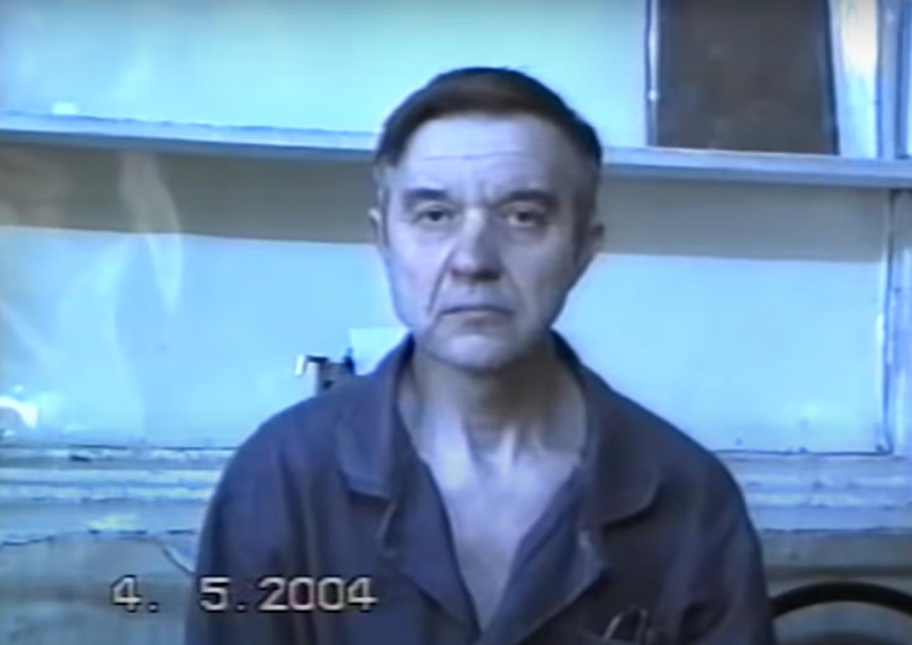 Viktor Mohov nakon uhićenja