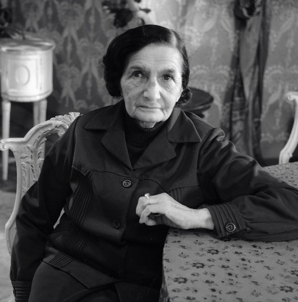 Nadezhda Kosheverova had a gift for discovering new talents.