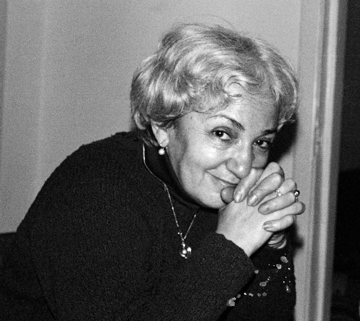 Tatyana Lioznova is perhaps the most versatile Soviet female director.
