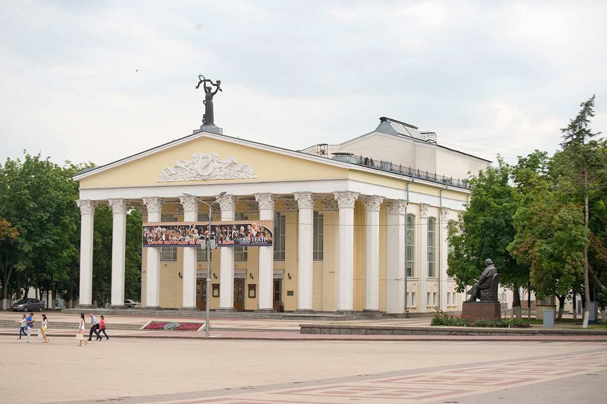 Shchepkin State Drama Theater, Cathedral Square. Built on the site of Convent of the Nativity of the Virgin (demolished during Soviet period). June 24, 2015