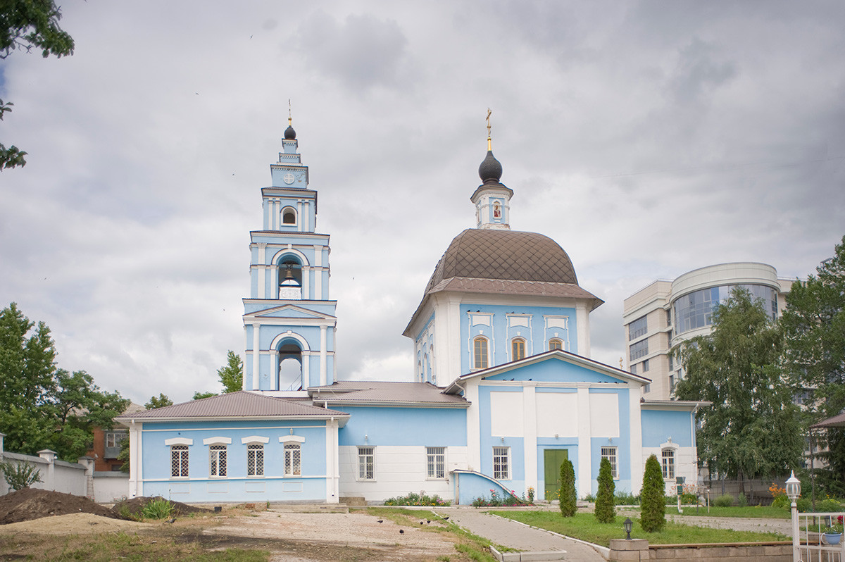 Church of the Intercession of the Virgin, Mary-Martha Convent. South view. June 24, 2015