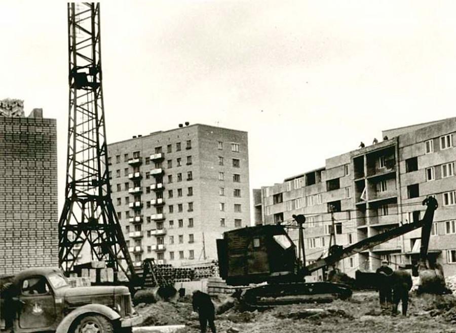 Construction de bâtiments résidentiels