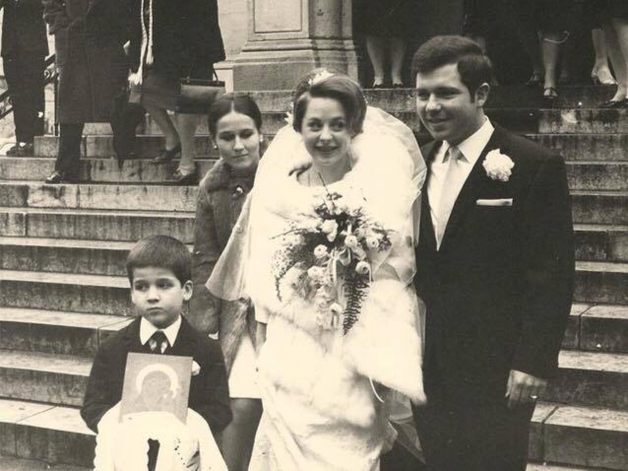 Mariage de Maria et Alexandre Pouchkine à Paris