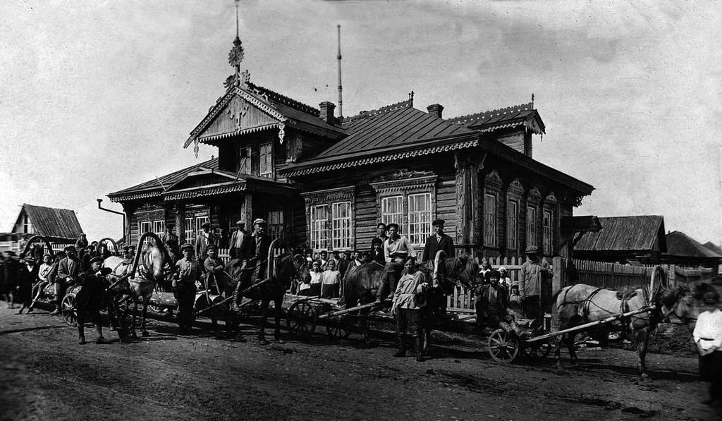 ウラル地方にて、金の採掘を行うスボートニク、1935年