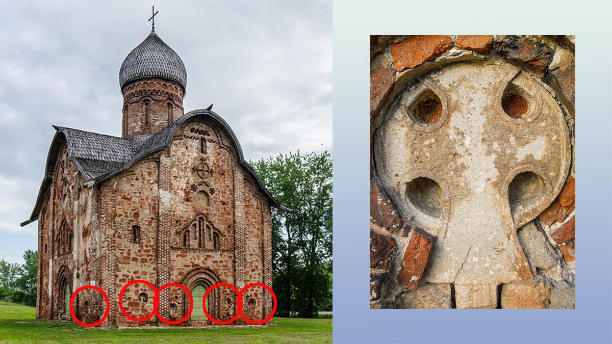 Gereja Santo Petrus dan Paulus abad ke-15 di Kozhevniki