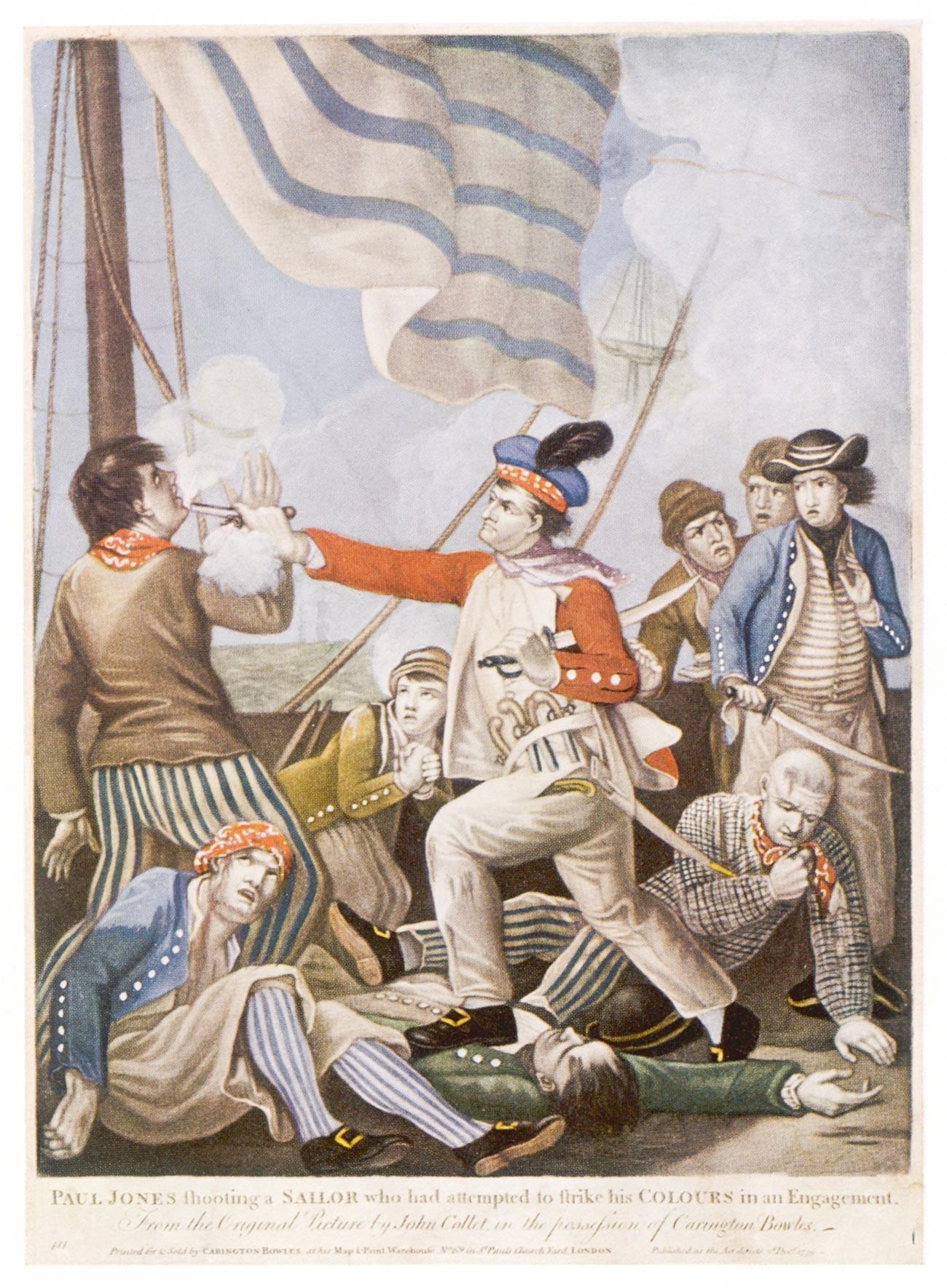 John Paul Jones, američki pomorski časnik (rođen u Škotskoj). 1747.-1792.