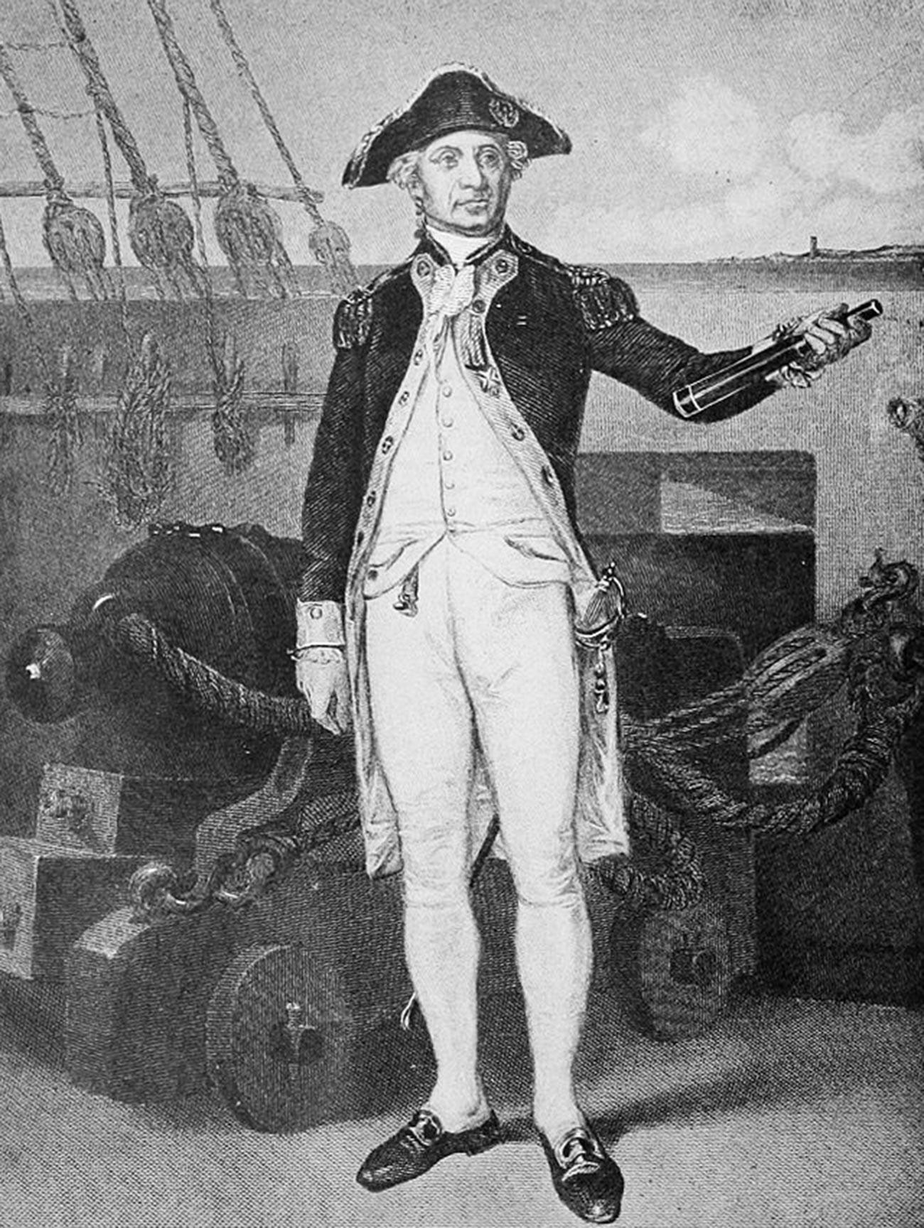 Admiral John Paul Jones