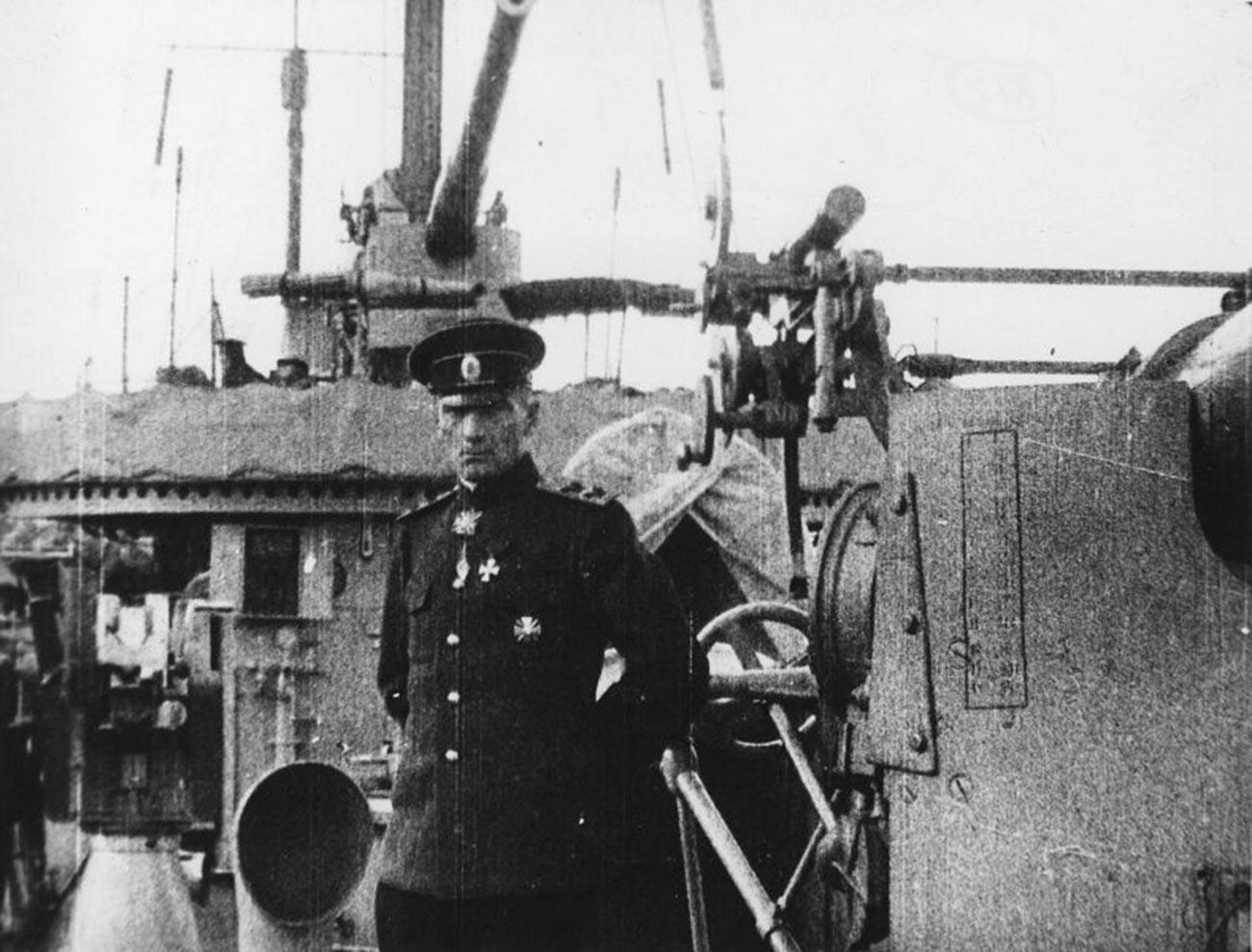 Alexander Koltschak als Kommandeur der Schwarzmeerflotte.