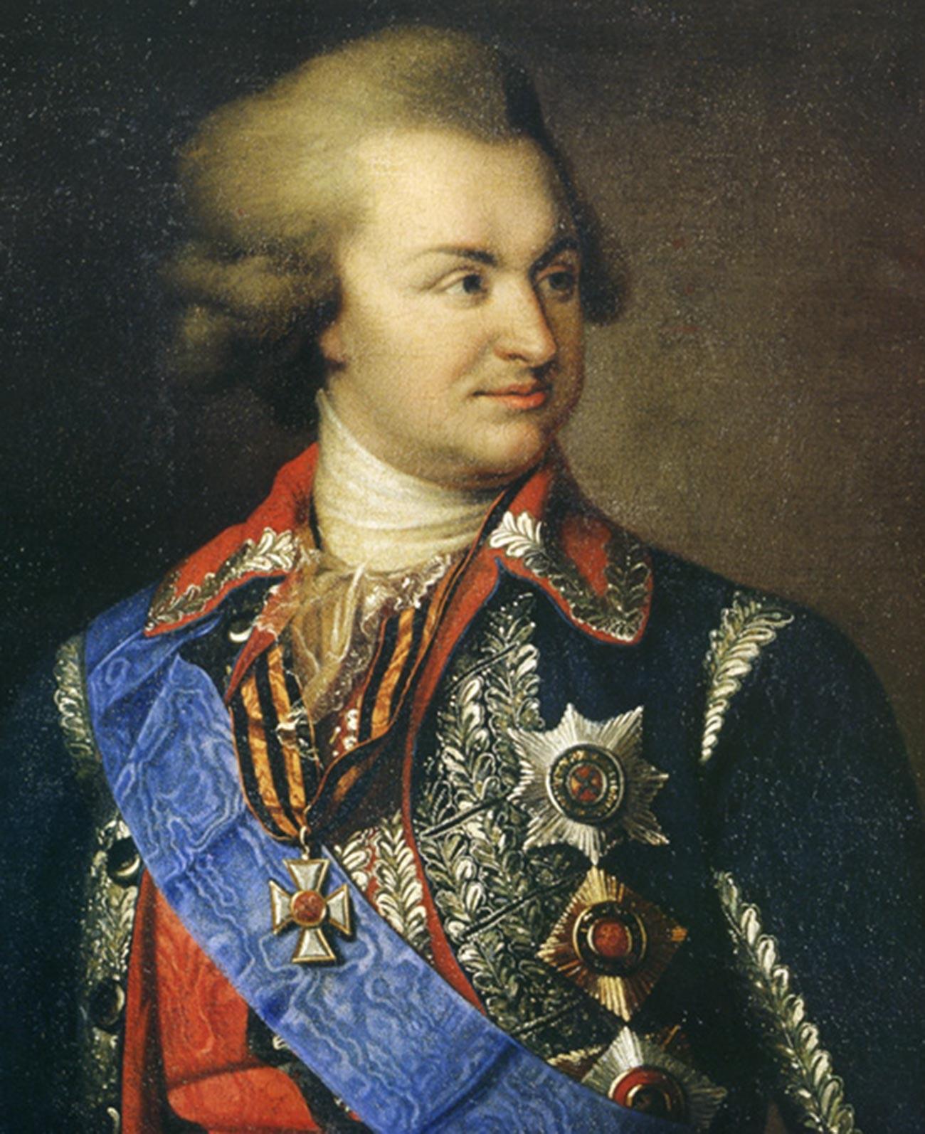 His Serene Highness Prince Grigory Potemkin.