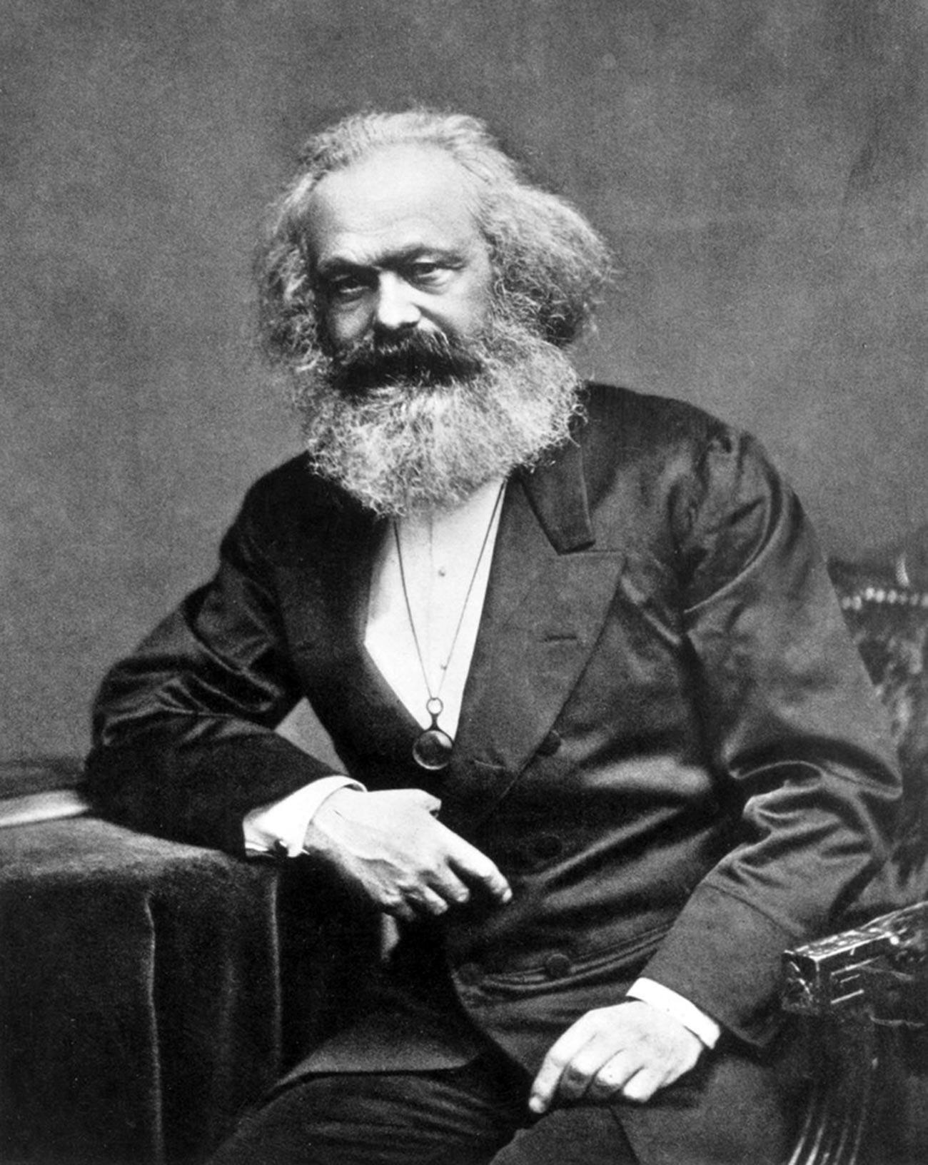 Маркс през 1875 г.