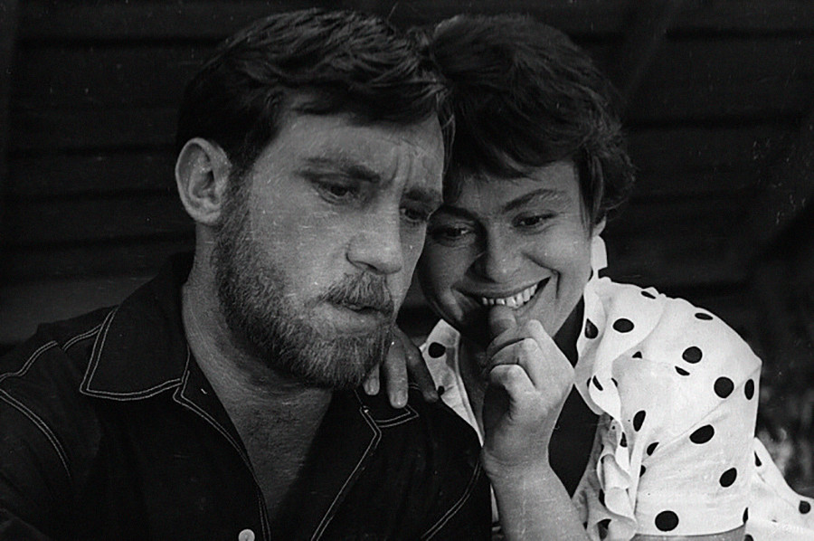 Vladimir Vyssotski et Kira Mouratova