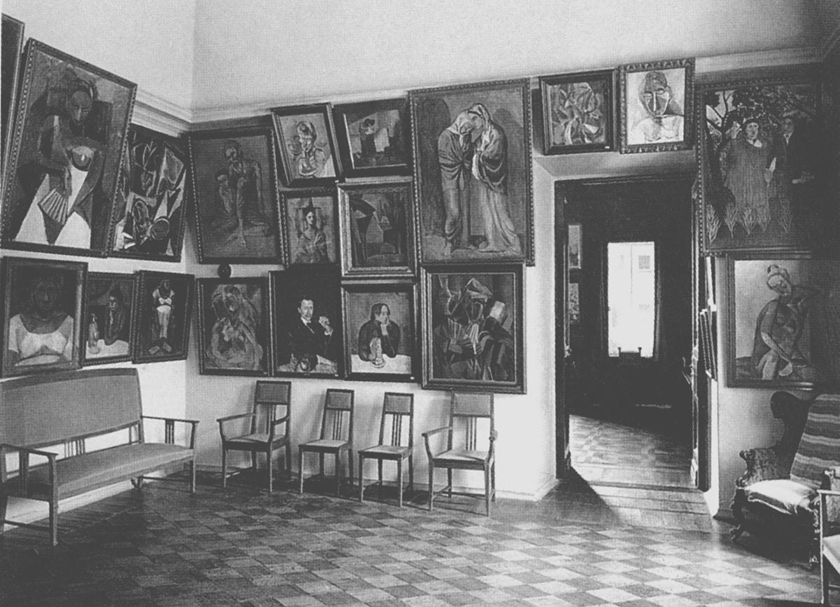 Работы Пикассо в доме Щукина.