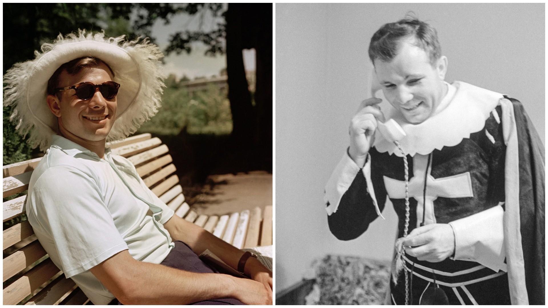 Seltene Fotos von Juri Gagarin aus dem Alltag (FOTOS