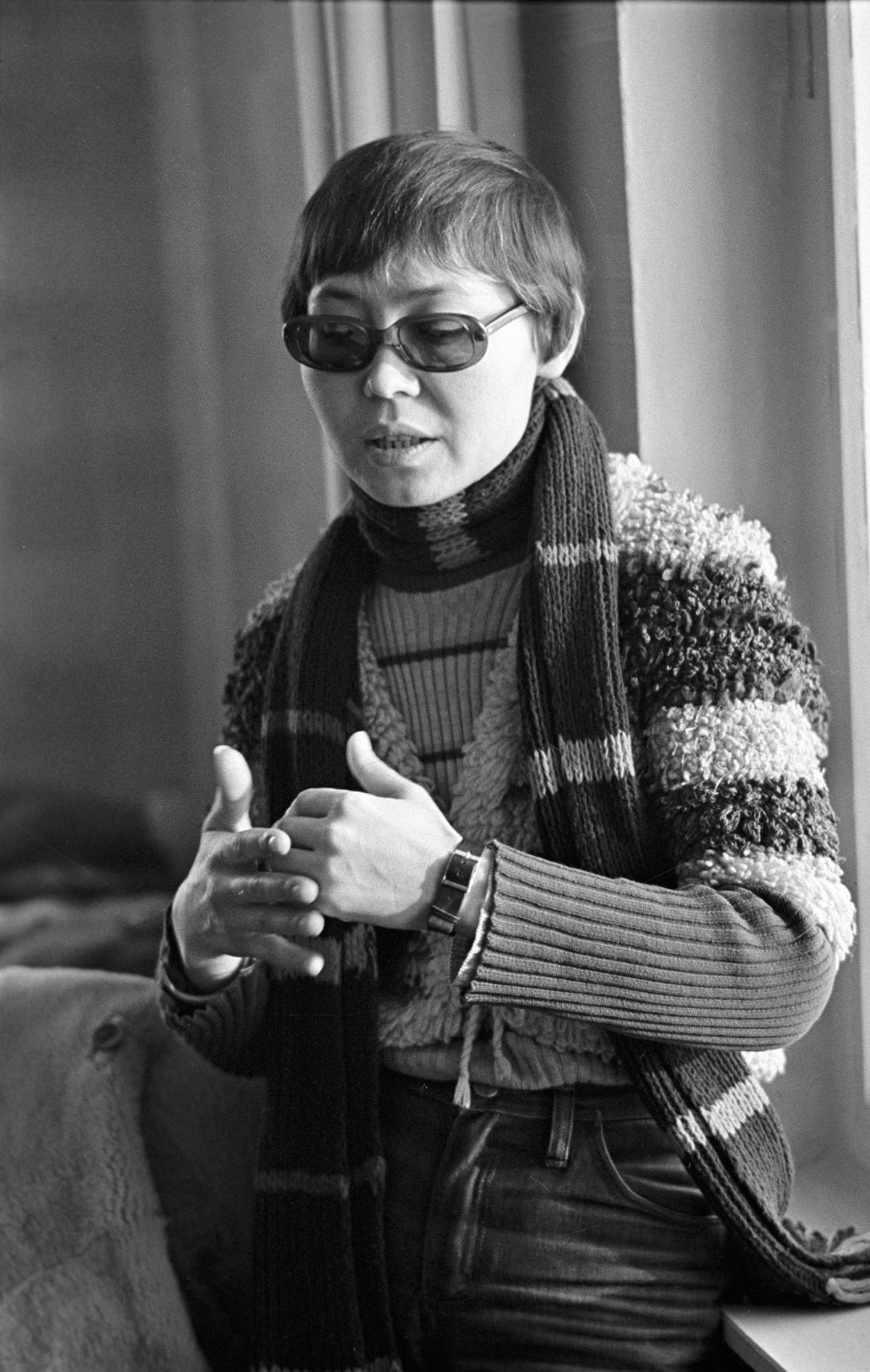 Dinara Asanova je obrnila novo stran v sovjetski kinematografiji.