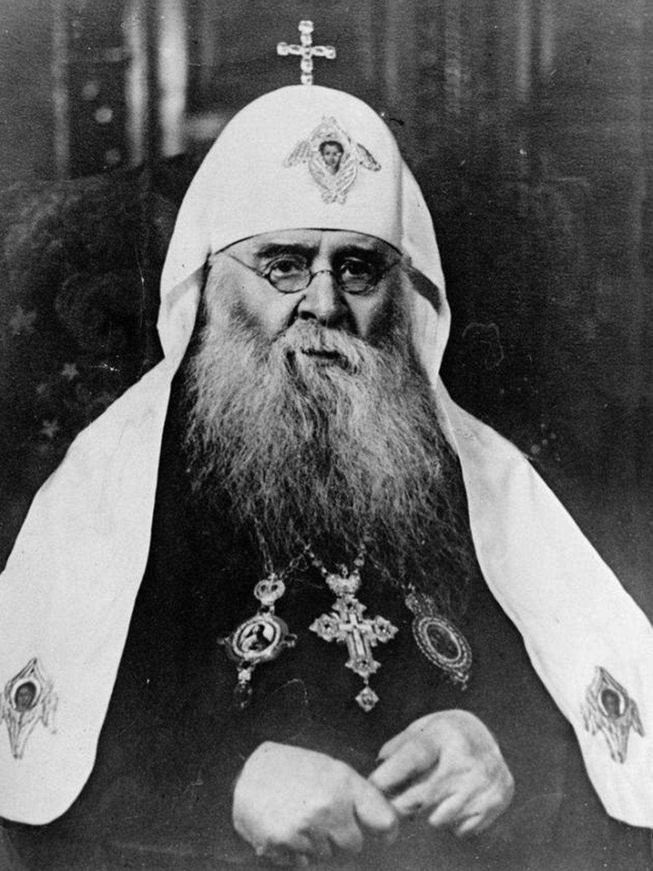 Patriarch Sergius von Moskau.