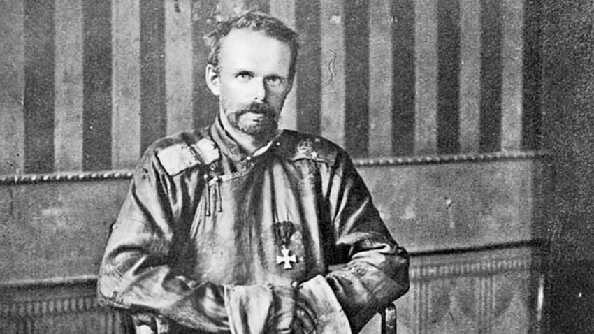 Baron Roman von Ungern-Sternberg di Mongolia