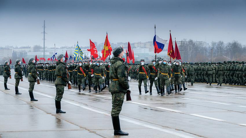 Воен полигон Алабино, Подмосковје.