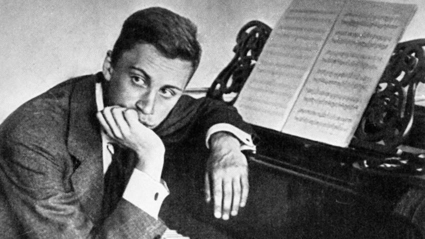 Skladatelj Sergej Prokofjev.