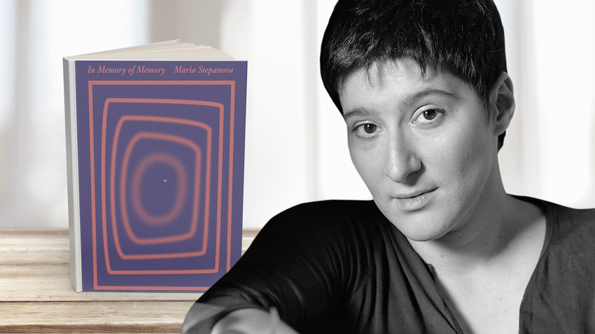 Maria Stepanova and 'In Memory of Memory' English book cover
