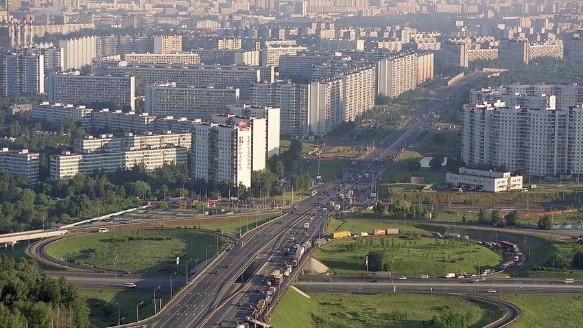Moskovsko okrožje Birjuljevo Vostočnoje