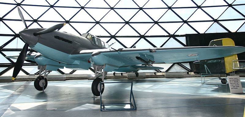 Il-2 expuesto en el Museo de la Aviación de Belgrado (Serbia)