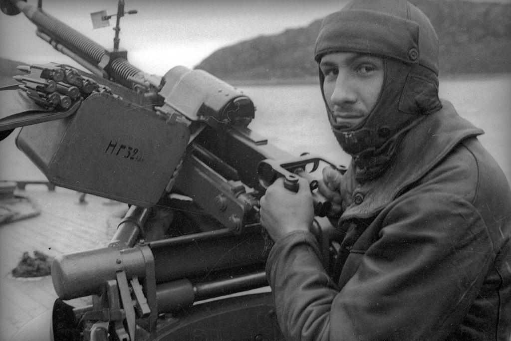 Alexandre Chabaline, deux fois Héros de l'URSS, flotte du Nord, 1941