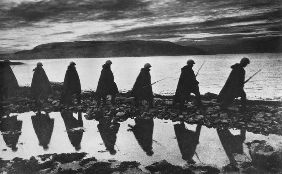 En direction de Mourmansk, 1941