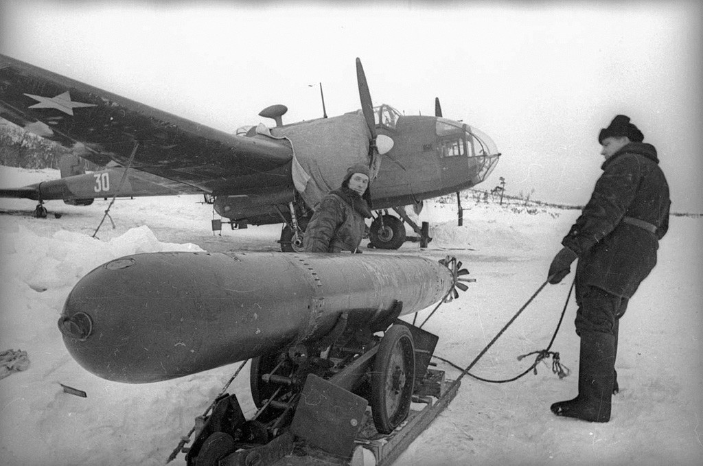 Torpille aérienne, 1941, Mourmansk