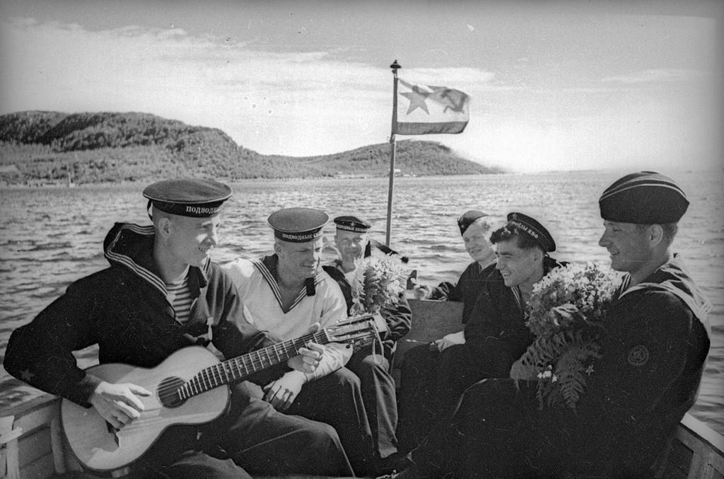 Chanson de marin. Flotte de la Baltique, 1942