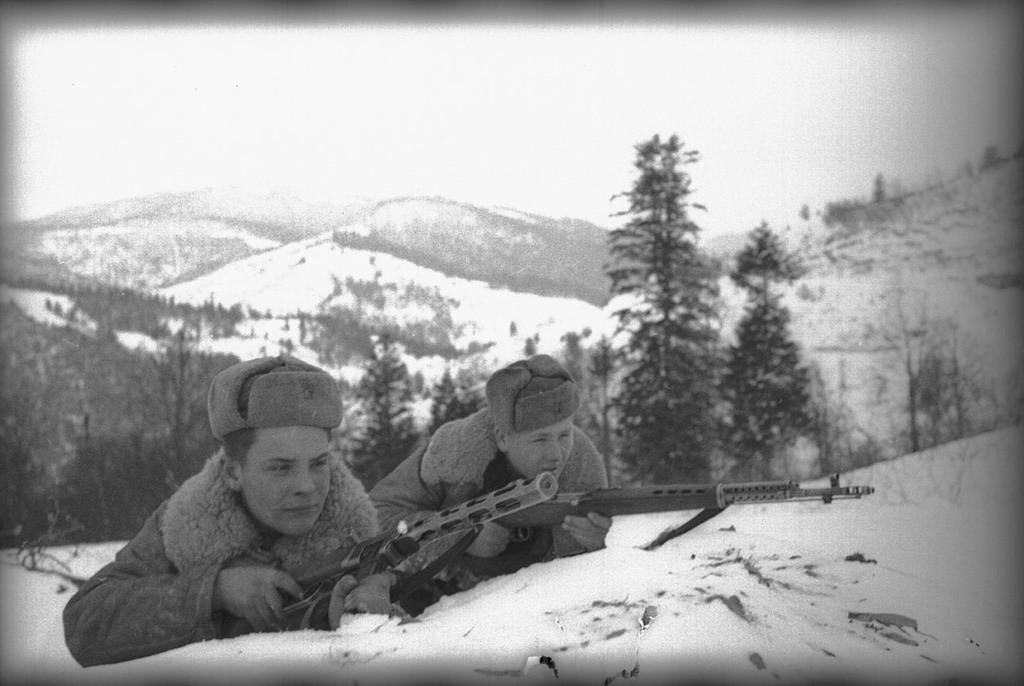 À la frontière polono-tchèque, 1945