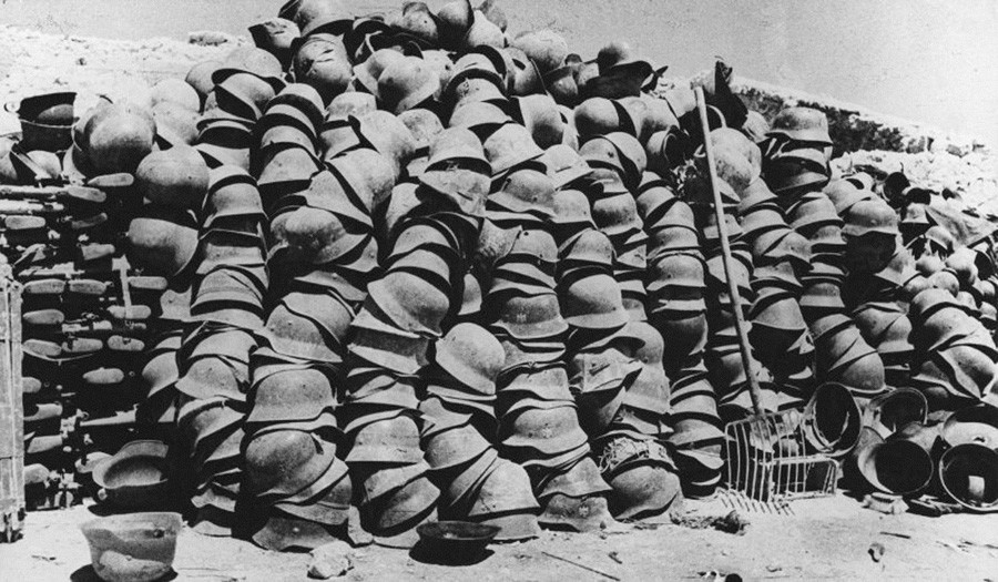 « C'est ainsi que les guerres se terminent », 1944