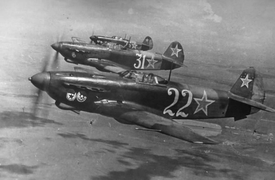 Avions Yak-9D, 1944