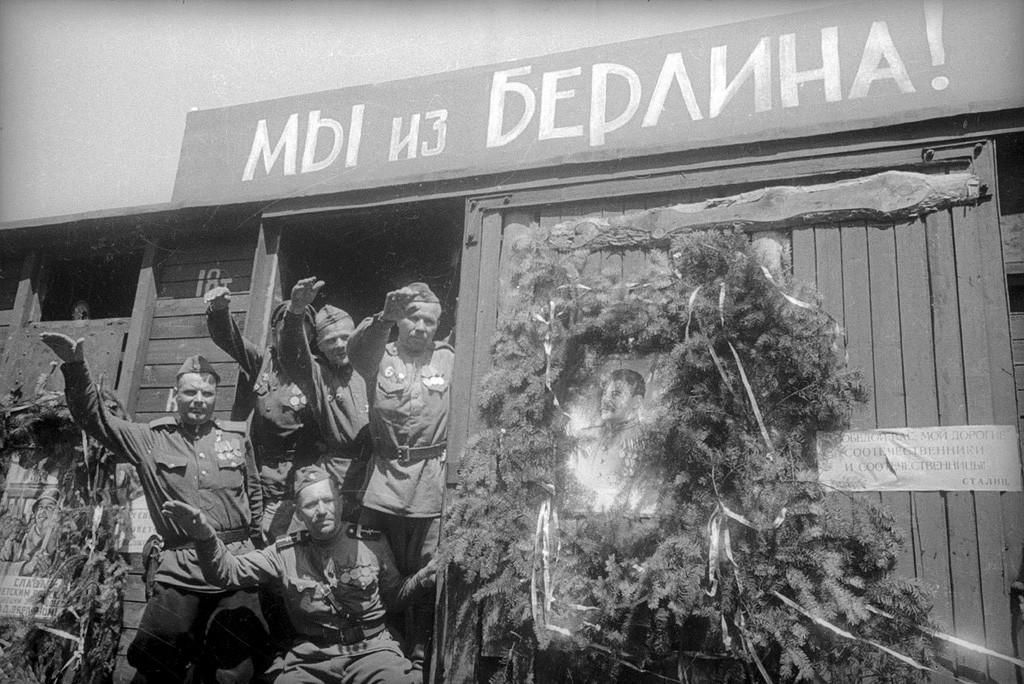 « Nous venons de Berlin ! ». Soldats rentrant chez eux, 1945