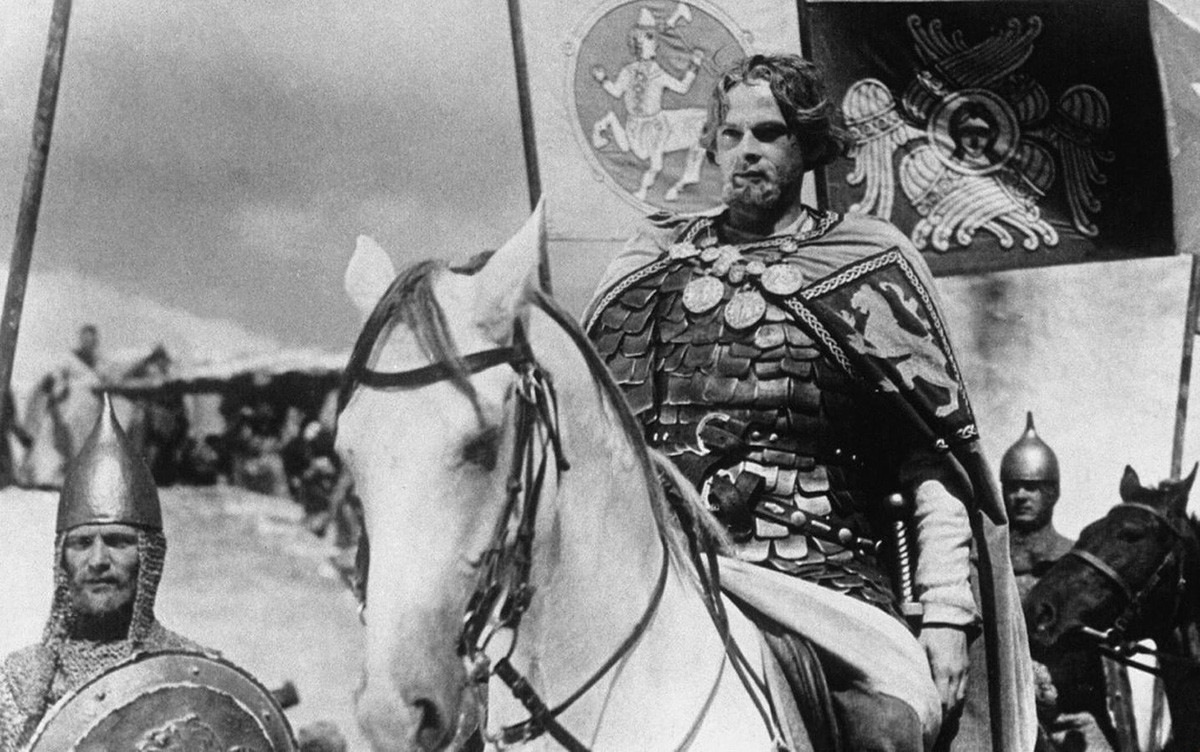 "Cuplikan adegan dari film ""Aleksandr Nevsky"""