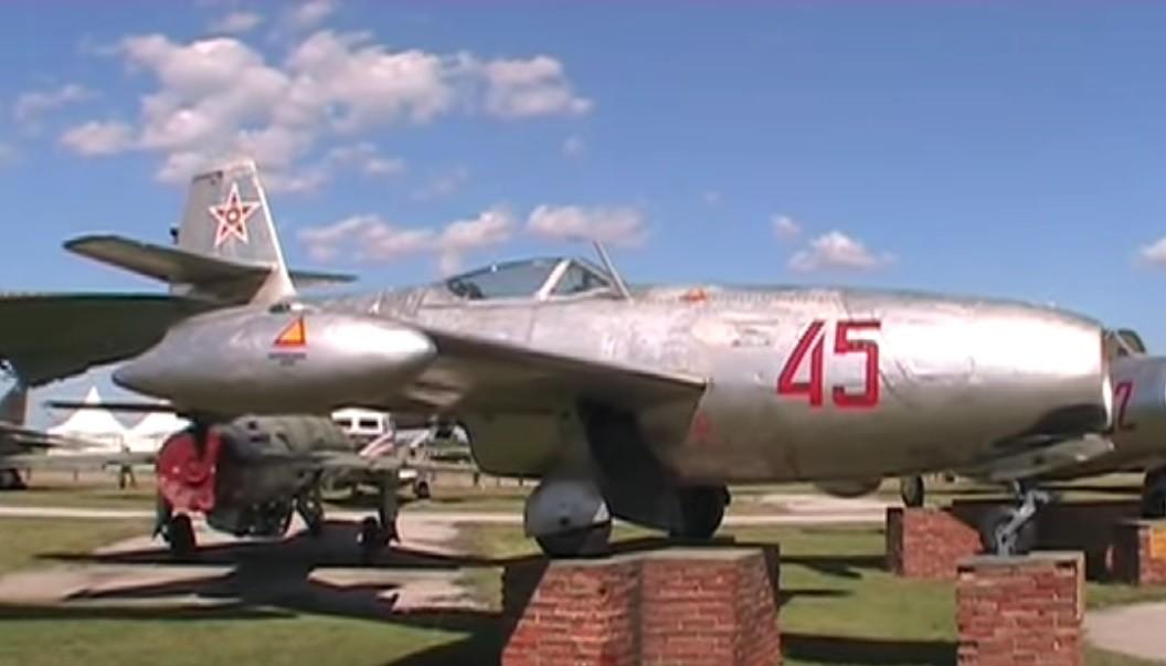 Museo Búlgaro de la Aviación dePlovdiv. Yak-23