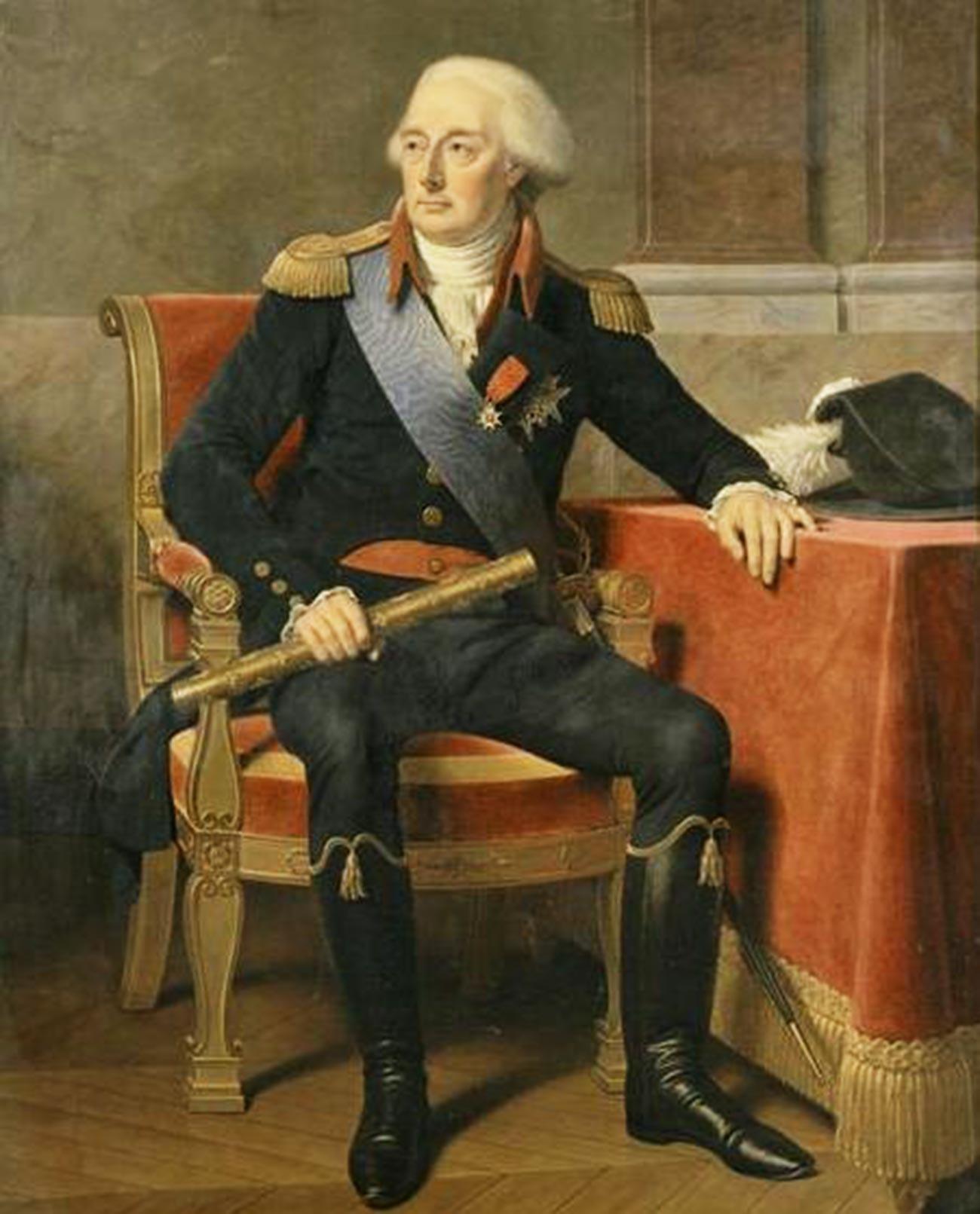 El príncipe Luis José de Borbón-Condé