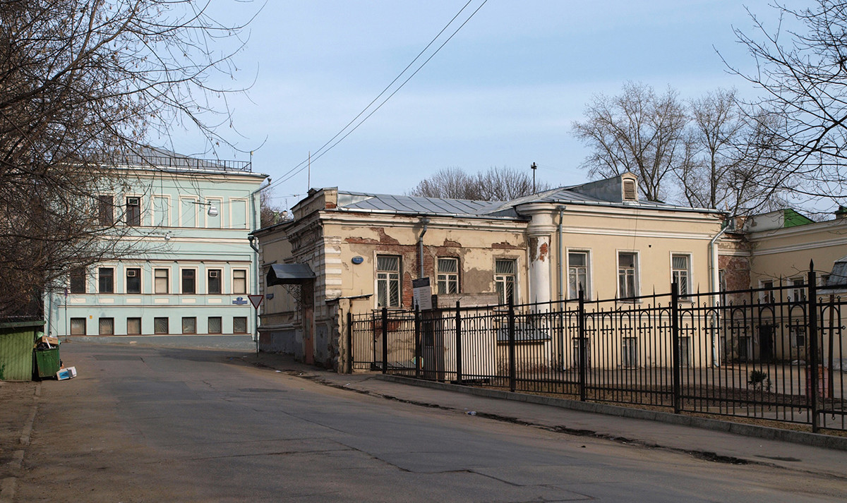 Bolšoj Nikolovorobinski pereulok, Moskva.