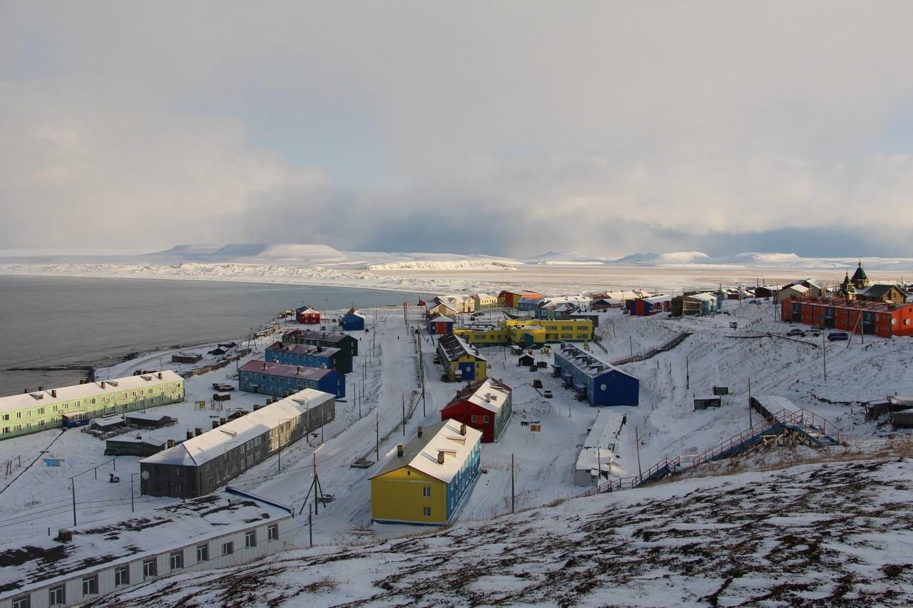 Le village de Nikolskoïé en hiver