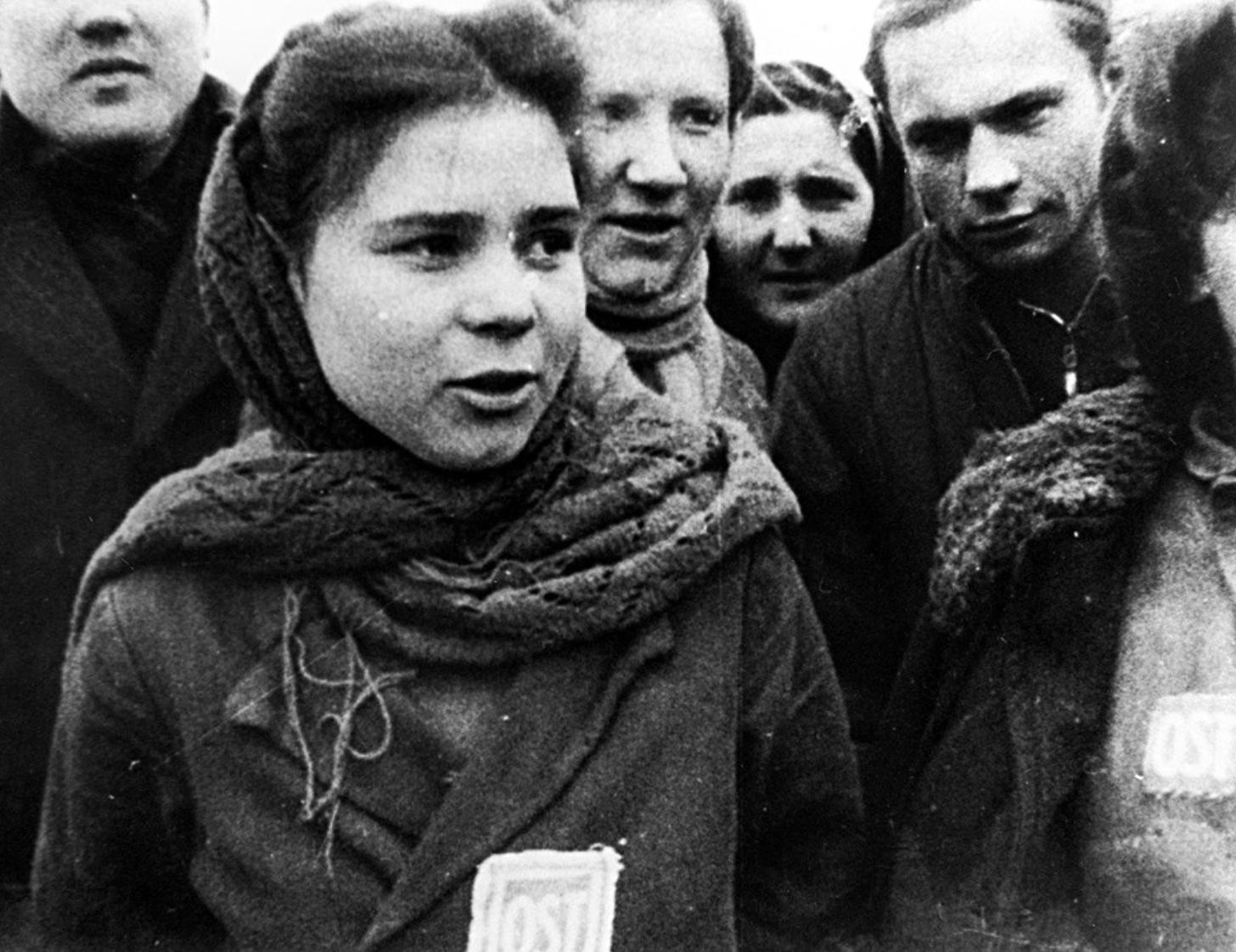 Des femmes soviétiques en Allemagne nazie
