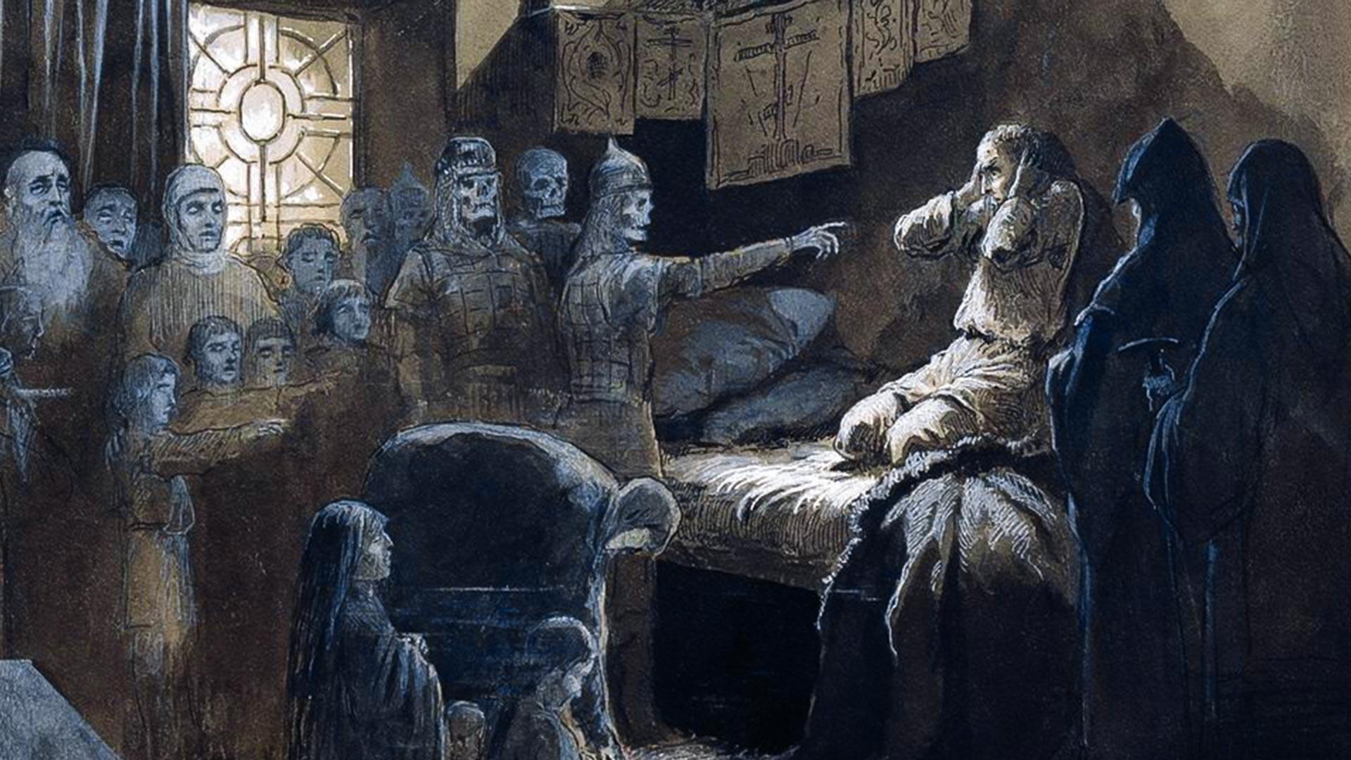 Ivan le Terrible et les ombres de ses victimes