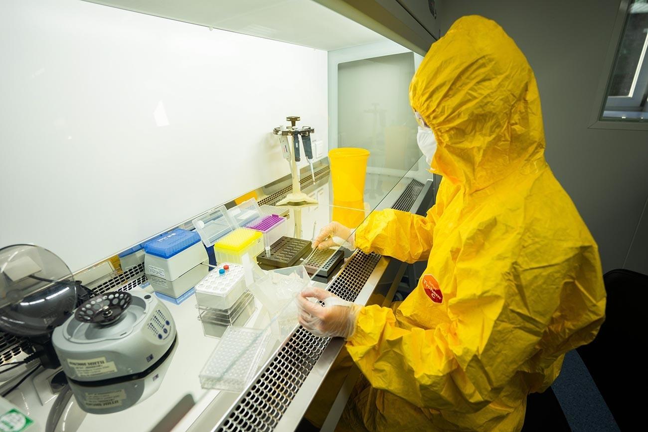 """Во Русија е регистрирана """"Карнивак-Ков"""", првата вакцина на светот против коронавирусот за животни."""